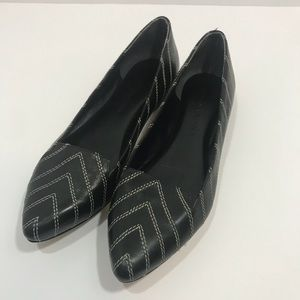 Sigerson Morrison Black Boho Modern Leather sz 6